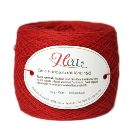 Passionate Red Thick Yarn