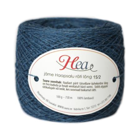Dark Green Blue Thick Yarn