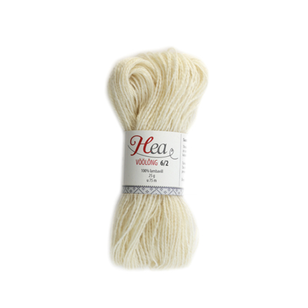 Natural White Yarn 6/2 for Belt Weaving