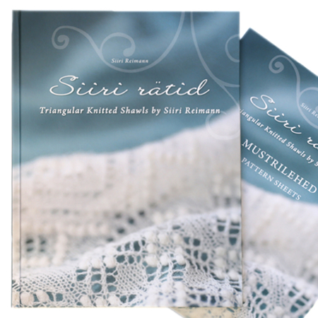 Triangular Knitted Shawls by Siiri Reimann
