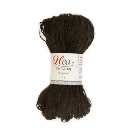 Dark Brown Yarn 6/2 for Belt Weaving