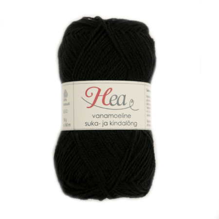 Brownish black vintage Yarn