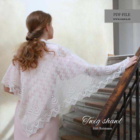 Twig shawl