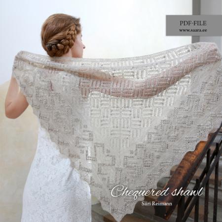 Chequered shawl
