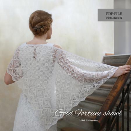 Good Fortune shawl