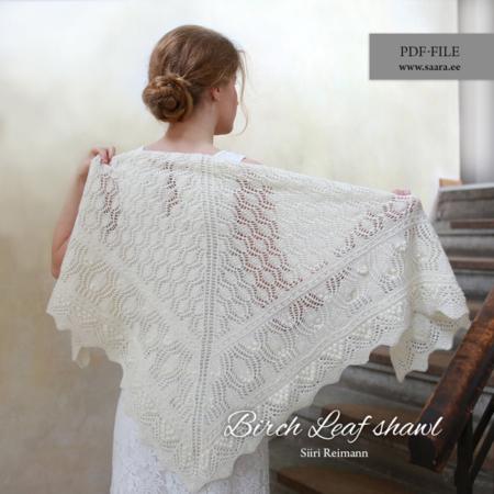 Birch Leaf shawl