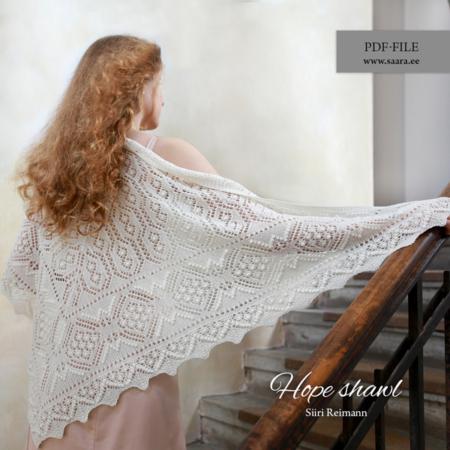 Hope shawl